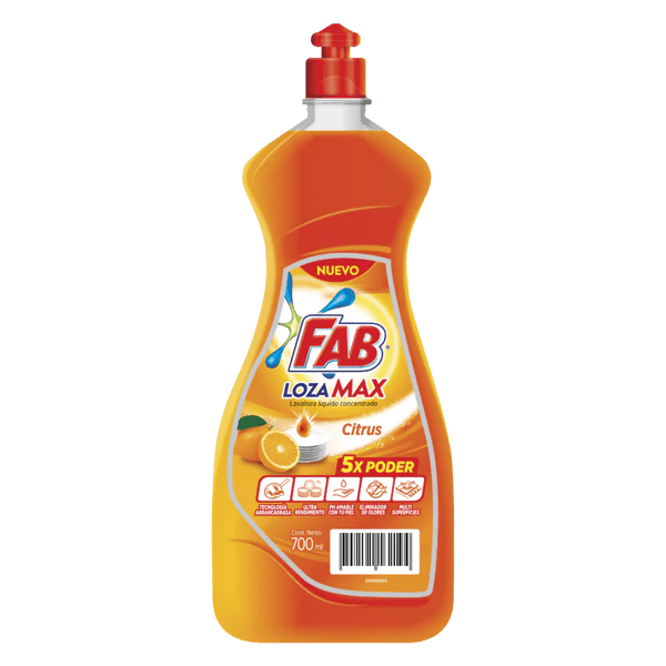Fab Lozamax Citrus Botella pack shot