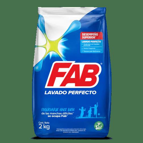 FAB Polvo Lavado Perfecto pack shot