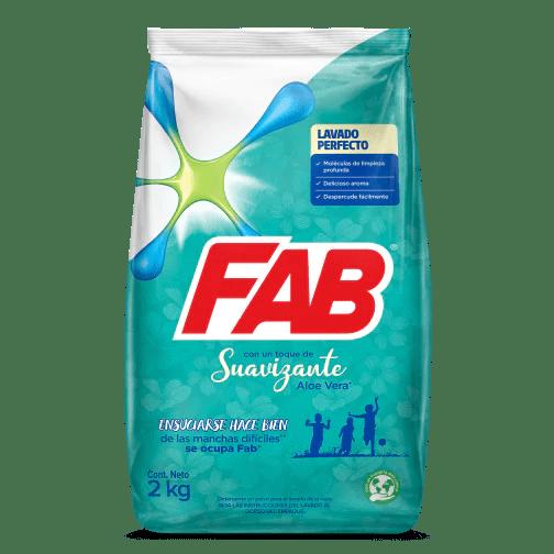 FAB Polvo Toque de Suavizante Aloe Vera pack shot