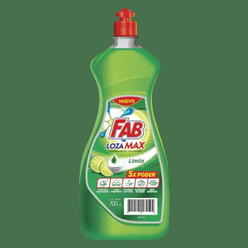 Fab Lozamax Limón Botella pack shot