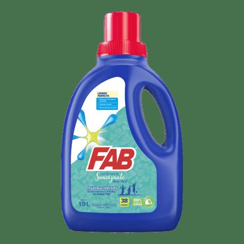 FAB Líquido Toque de Suavizante Aloe Vera Botella pack shot