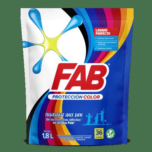 Fab Líquido Protección color Doypack pack shot