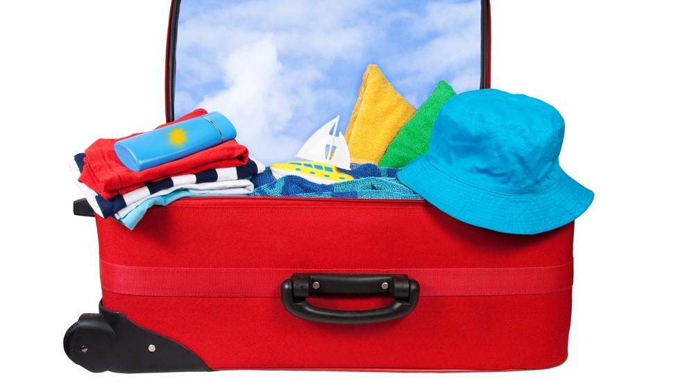 Objetos y ropa para el verano