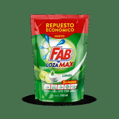 Fab Lozamax Limón Doypack pack shot