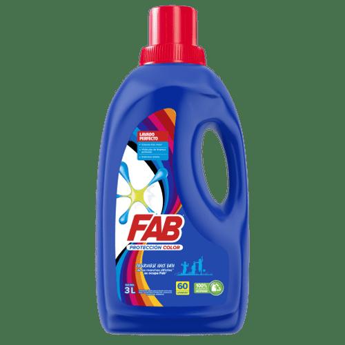 FAB Líquido Protección color Botella pack shot