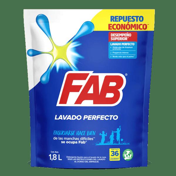 Fab Líquido Lavado Perfecto Doypack packshot