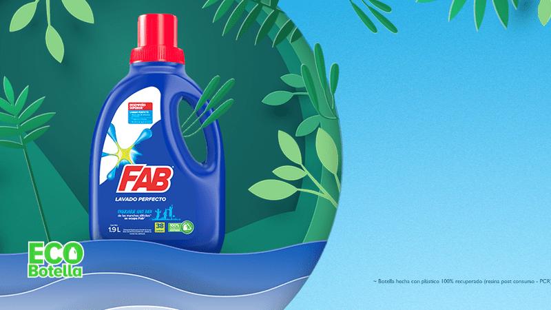 Ayuda al planeta con la Eco Botella de FAB® bandera