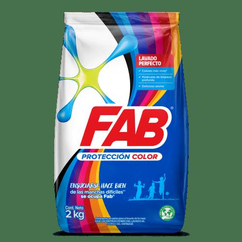 FAB polvo Protección color pack shot